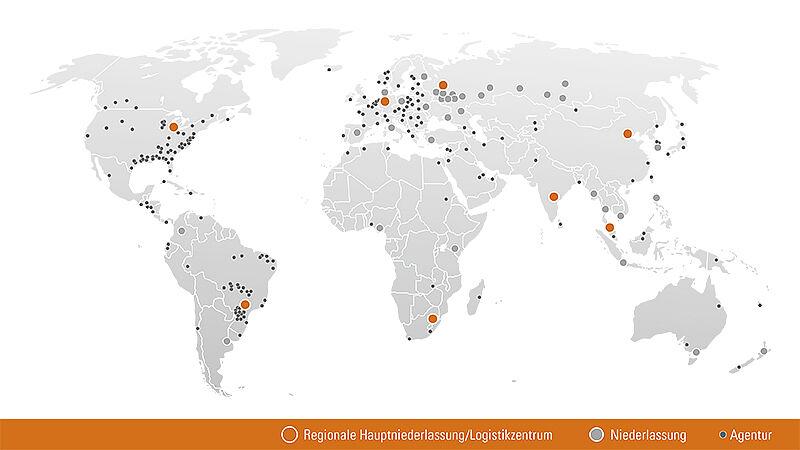Przedstawicielstwa na całym świecie