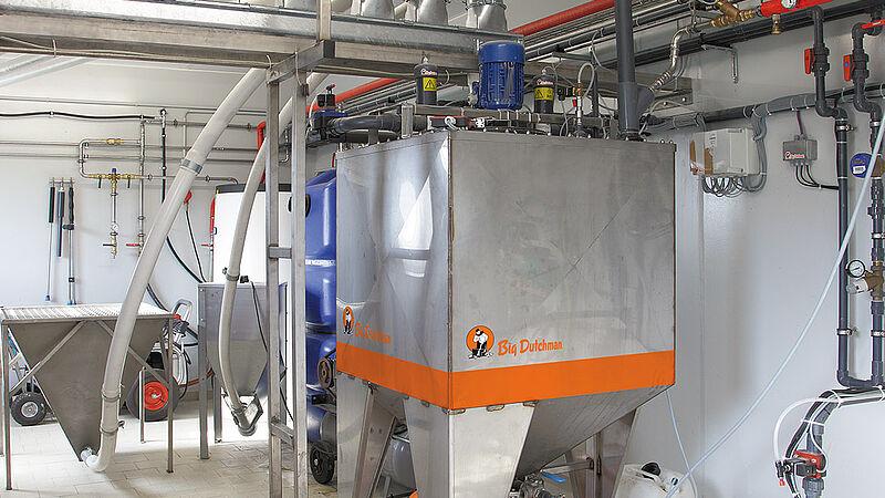 System żywienia na mokro HydroAir dla warchlaków