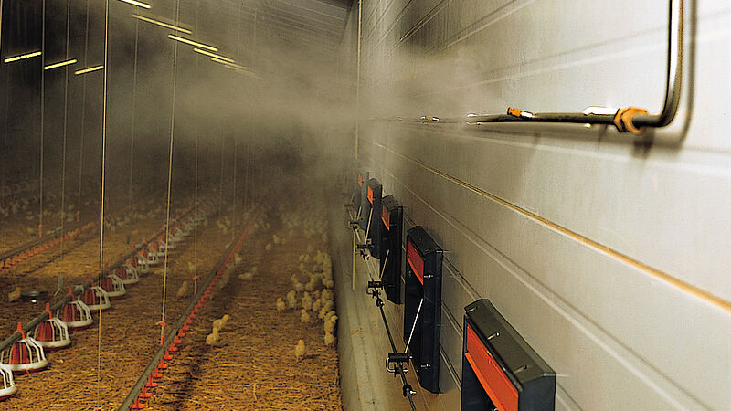 Fogging Cooler – wysokociśnieniowy system zamgławiania