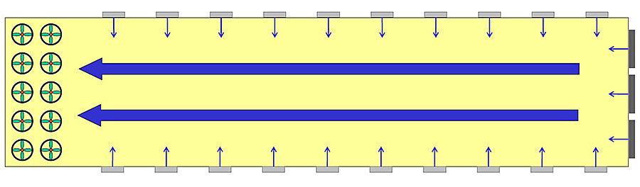 Quadratische Öffnung